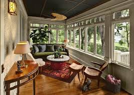 sunroom lighting ideas. Use Table Lamps And Wall-mounted Fixtures For Subtle Pleasant Lighting Sunroom Ideas L