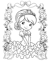 Small Picture strawberry shortcake coloring page Strawberry Shortcake