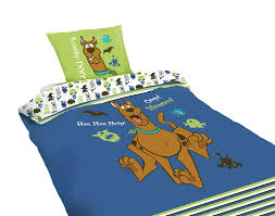scooby doo 2070012 bedding set duvet cover 140 x 200 x 40 cm and pillowcase co uk kitchen home
