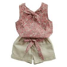 Lankey Baby Clothing Kids Summer Clothes Girls ... - Amazon.com