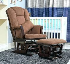 wooden rocking chair for nursery interesting for glider chair with ottoman rocker set nursery and