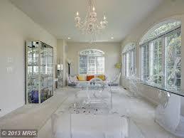 Living Room Built In Traditional Living Room With Built In Bookshelf Chandelier In