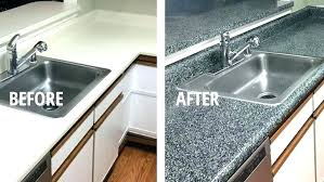 refinishing kit resurfacing corian countertop repair