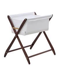amazoncom  cariboo folding bassinet (mahogany)  baby