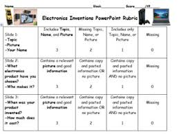 Electronics Inventions Powerpoint Project By Amy Mcquiston Tpt