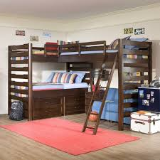 diy triple bunk bed corner hand crafted bed thebestdesignsinfo modern  triple bunk beds for kids 640x640