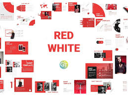 Red Ppt Red White Free Powerpoint Template By Giant Template On