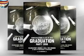 Graduation Flyer Template Graduation Flyer Template Flyer Templates Creative Market 3