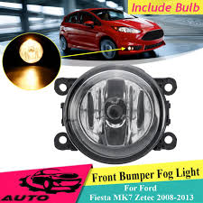 Fiesta Mk7 Fog Light Bulb Front Bumper Fog Light Lamp With Bulb For Ford Fiesta Mk7 Zetec 2008 2013