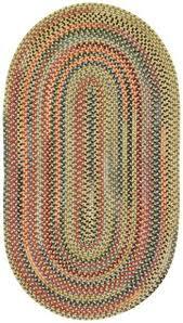<b>Songbird Gold</b> Finch Braided Rugs - Capel Rugs