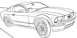 Coloring Sheets Of Cars Deluxe Sport Car Coloring Page Car Coloring