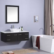 bathroom cabinet design ideas. Stunning Modern Bathroom Vanities With Totti Wave 48 Inch Espresso Vanity Counter Top Cabinet Design Ideas
