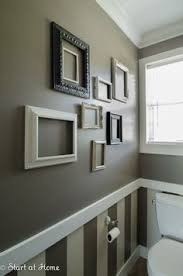 image result for chair rail paint and wallpaper