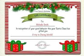 Christmas Certificates Templates For Word Adorable Printable Coupon Template Free Templates Christmas Book