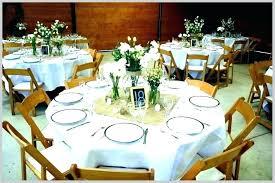 Round Table Settings For Weddings Ideas For Wedding Table Settings Metalfabtech Com