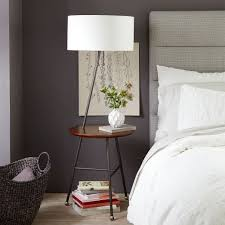 Duo Side Table Floor Lamp