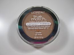 loreal true match super blendable pact makeup in n4 buff beige i got this deep shade