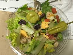 firehouse subs grilled en chopped salad