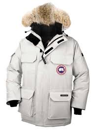 Canada Goose Expedition Parka Light Grey Men  s Coat