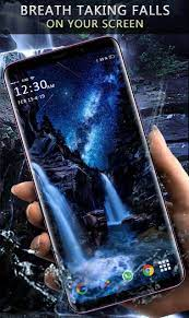 Waterfall Live Wallpaper - 3D Moving ...