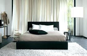 cream furry rug cream and white bedroom black white bedroom scheme with decorative pillow and white