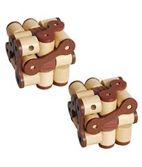 gz wood 3d wooden cube brain teaser puzzle toy 2 pack gz wood 3d wooden cube brain teaser puzzle toy 2 pack at low snapdeal