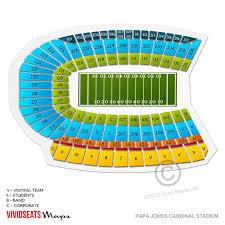 Papa Johns Cardinal Stadium Seating Chart Clip Art Library