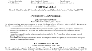 Amazing Ideas Sample Bartender Resume 16 Skills Image Examples