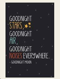 Bedtime Quotes Unique Goodnight Moon Baby Shower Pinterest Moon Night Quotes And
