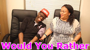 Would You Rather With My Mum YouTube
