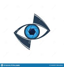 Eye Logo Design Ideas Vision Media And Photography Icon Stock Illustration