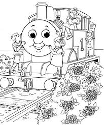 Thomas The Train Coloring Pages Jokingartcom