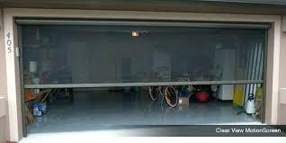 retractable screen doors for garage screen garage doors garage door screens retractable screen doors oh pertaining