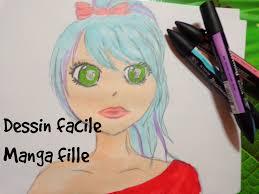 Dessin Facile Manga Fille Youtube