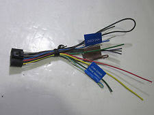 kenwood car audio and video wire harness ebay Kenwood KDC 248U Wiring Harness at Kenwood Kdc 125u Wiring Diagram