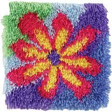 latch hook kit gy latch hook rug flower power