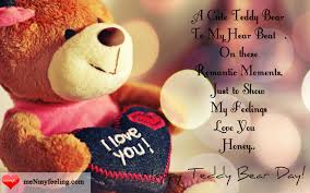 Best Teddy Day Quotes And Status With Images Me My Feeling