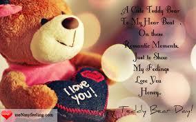happy teddy day es images wishes status teddybear menmyfeeling