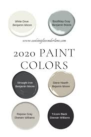 paint colors for a 2020 home seeking