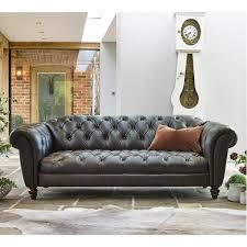 companies wellington leather furniture promote american. Wellington 3 Seater Semi Aniline Leather Chesterfield Sofa, Chocolate Companies Furniture Promote American