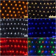 led net light 1 5m x 1 5m 100 leds xmas fairy lights us plug 110v