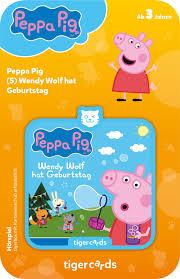 tigercard - Peppa Pig - Wendy Wolf hat Geburtstag | tigermedia-Shop