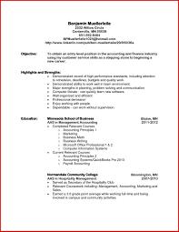 Job Objectives Resume Elmifermetures Com