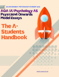 how to answer mark essay questions for as psychology aqa aqa psychology a level as psya1 model essay answers