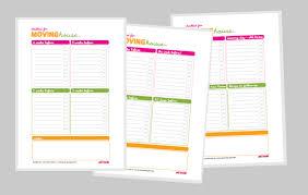Move Checklist Template Free Moving House Checklist