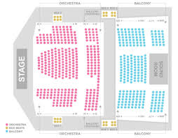 Chrysler Hall Seating Chart Seating Chart