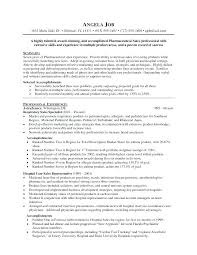 Pharmaceutical Sales Resume Objective Best of Sales Resume Objective Statement Resume Bank