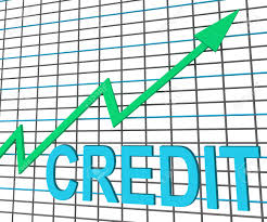 Chart Showing Increase Credit Graph Chart Showing Buy Increase Grow Debt