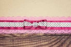pink and white vintage background. Interesting Background Vintage Background With Wood Old Paper And Pink White Polka Dot Ribbon  Bow  Stock Photo Colourbox On Pink And White Background E