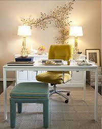 yellow office decor. 10 Home Office Design Ideas We Love Yellow Decor W